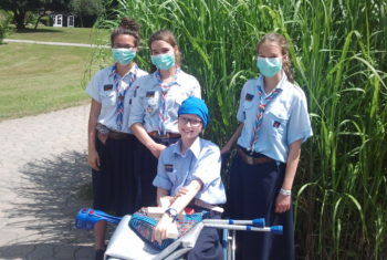 Pfadfinder Kranke Kinder